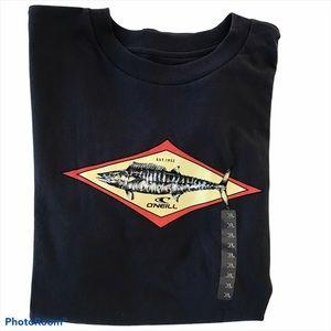 NWT O'Neill Hoo Navy Blue T-Shirt Size XL
